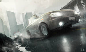 Car chase by AndreeWallin
