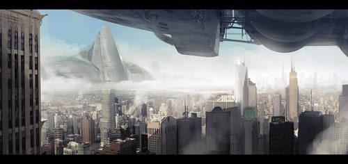Battle ships by AndreeWallin