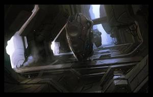 Sci fi alley by AndreeWallin