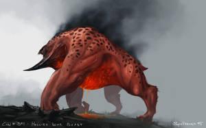 Hellish War Beast by Spellsword95
