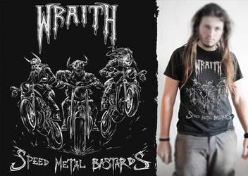 Wraith T-shirt Design by Spellsword95