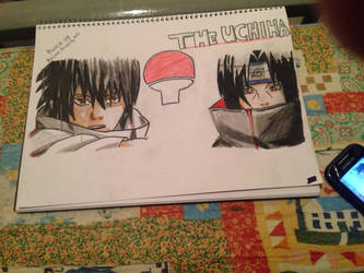 the uchiha brothers :D by mussie09