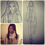 My Love From The Stars x Fashionary by msmichellec