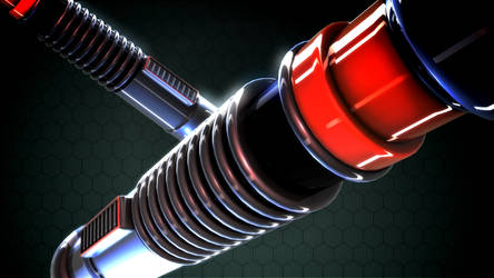 3D Star Wars Lightsaber 2 by chasehoch