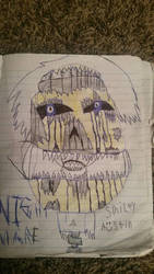 nightmare smiley eustin completed by Suicidemouseavi