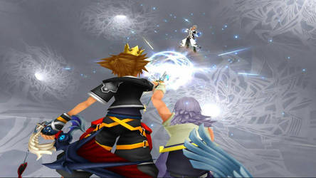 kh 2 final battle xemnas (i do not own this) by Suicidemouseavi