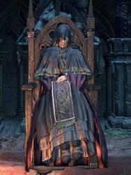 Emma high priestess of lothric  by Suicidemouseavi