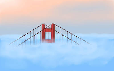Floating Bridge by scadl
