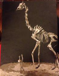 Giraffe Skeleton- Finished by AKI355