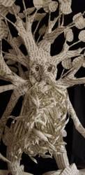 Treebeard Book Sculpture Close Up by wetcanvas