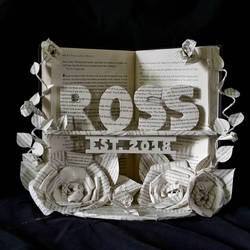 Wedding Book Sculpture by wetcanvas