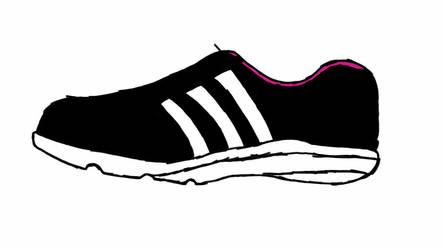 Sketch Your Shoe by LegendaryFoxGirl