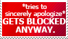 (Request) Blocked #8: I DON'T WANT UR APOLOGY. by World-Hero21