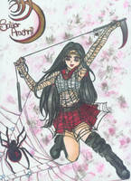 Sailor Arachni SurpremeCOLORED by neptunestears