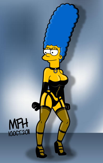 Marge Simpson By Mej073 On Deviantart-8020