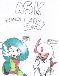 Ask Lady/Juno! by MSMoura