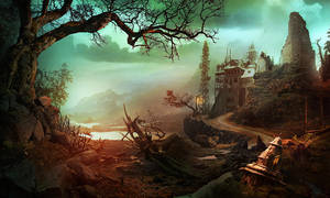 landscape by mySpaceDementia