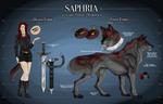 .: Saphira Reference :. by DEM0NIC-Spirit