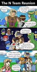 N team reunion comic by Tsunami45