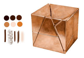 Copper Cube by KigerClouds