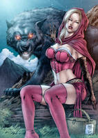 Red Riding Hood by assisleite