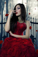 Lady in Red by bagusradhityo
