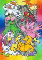 Digimon Adventure by GalaxyWings-Art