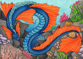 Sea Dragon by DeathTheDragon