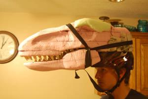Velociraptor Head 2 by neonrelics