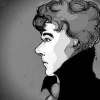 Sherlock by Adelie-Helene