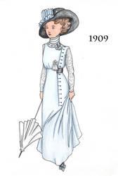 1909 C by Adelie-Helene
