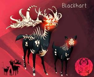 FanGrimm - Blackhart by Blue-Hearts