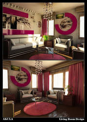 Living Room Design by akula13