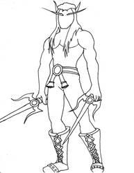 Blood Elf Template by Pyrionus