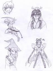 Magi - Manga Sketches by Rodriq