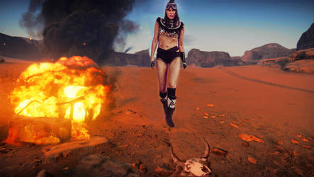 Mad Max Art Series 7 - Walking Wild by TLadyJessica
