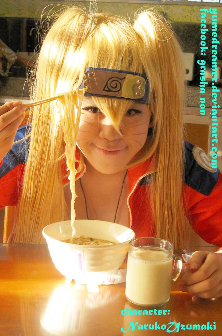 ramen and milk by yumedreamer