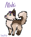 Ych Moki for mokithewolf by Shufflet