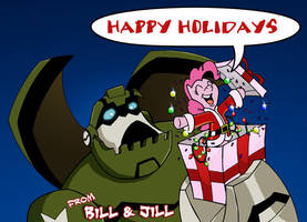 Happy Holidays by BillForster