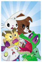 Gummy's Yummies! My Little Pony Pets by BillForster