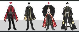 [Open] 4 Kings Outfits [3/4] by Malikui