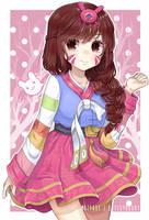 Love, D.va by cutesy-kitty