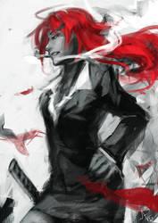 Red Smoke by N-Maulina