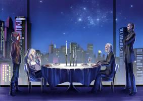 Skyline Table by N-Maulina