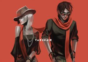Bold Red: Fabulous Actors of Varunair by N-Maulina