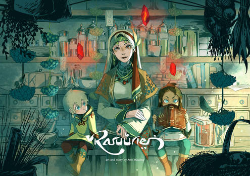 Raruurien Promo Art by N-Maulina