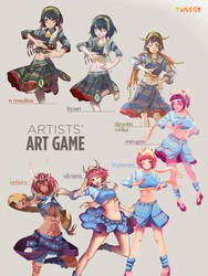 Tinker's Art Game by N-Maulina