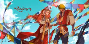 Raruurien: Join Hands by N-Maulina