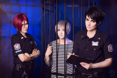 Samezuka Police by HibariRin