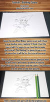 Colored Pencils Shading Tutorial by Opheroth